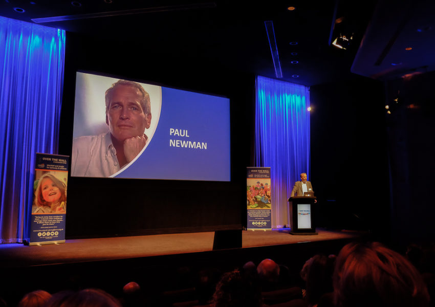 Paul Newman remembered at Over the Wall's 20th anniversary event at BAFTA