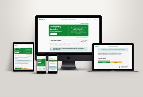 NSPCC digital platform