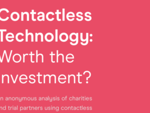 Cost effectiveness of contactless giving examined in white paper