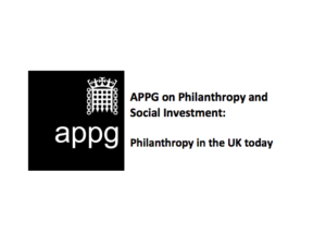 All-Party Parliamentary Group launches to encourage philanthropy