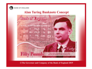 Alan Turing to feature on new £50 note