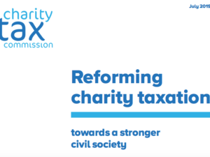 Charity tax reliefs need urgent overhaul, finds NCVO commission