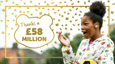 BBC Children in Need announces 2018 total was £58m