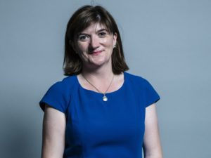 Nicky Morgan appointed DCMS Secretary of State