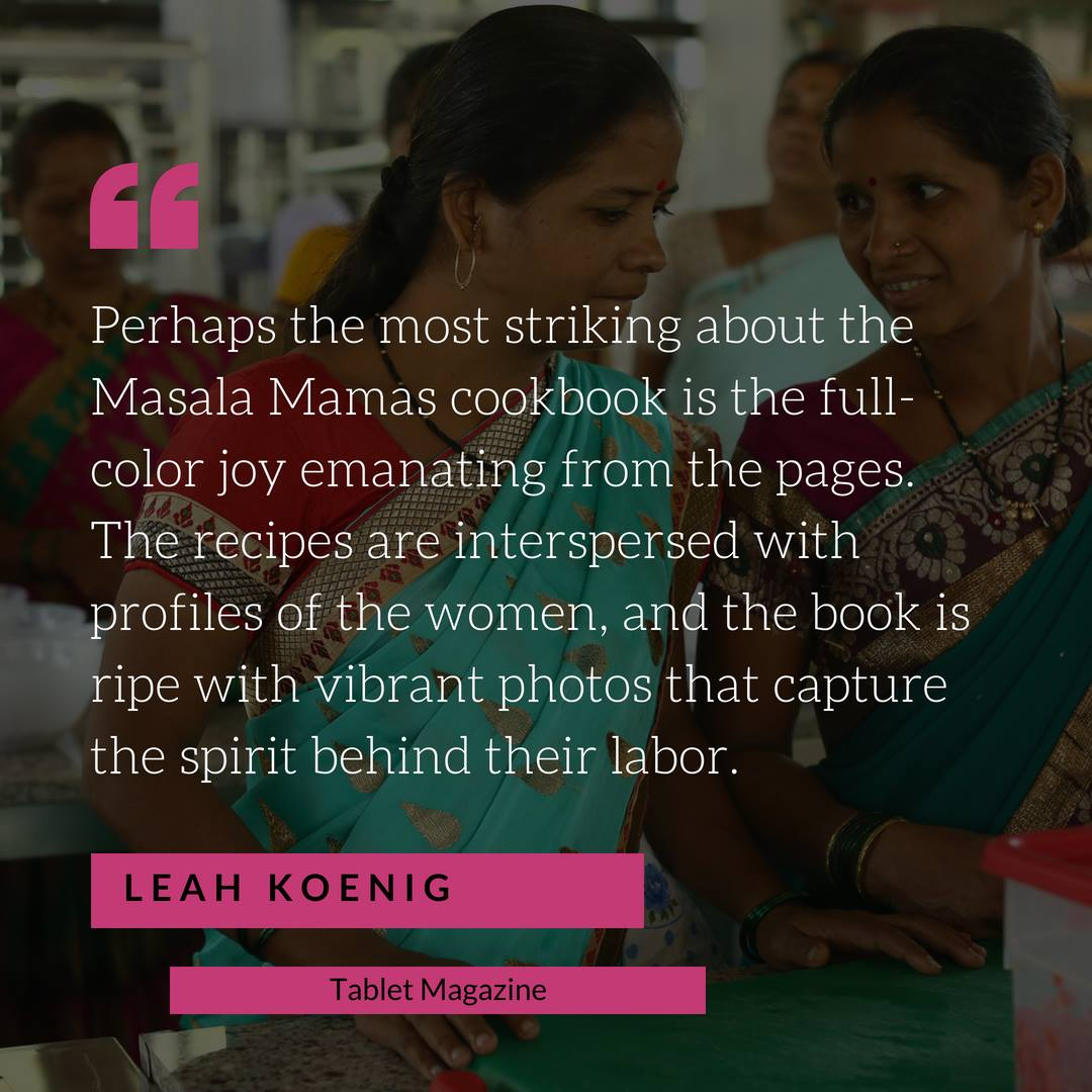 Quote by Leah Koenig about the Masala Mamas
