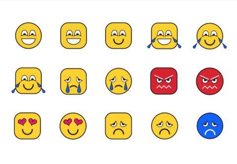 RNIB accessible emoji deisgns
