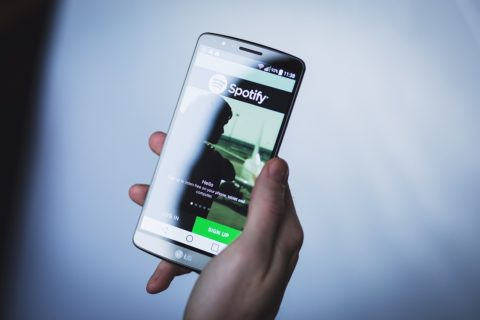 Spotify app on Android - photo: Pixabay