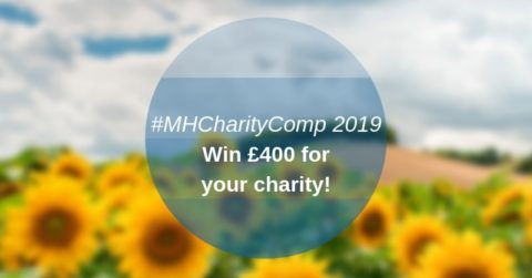 Marler Haley charity competition promotion, featuring field of sunflowers