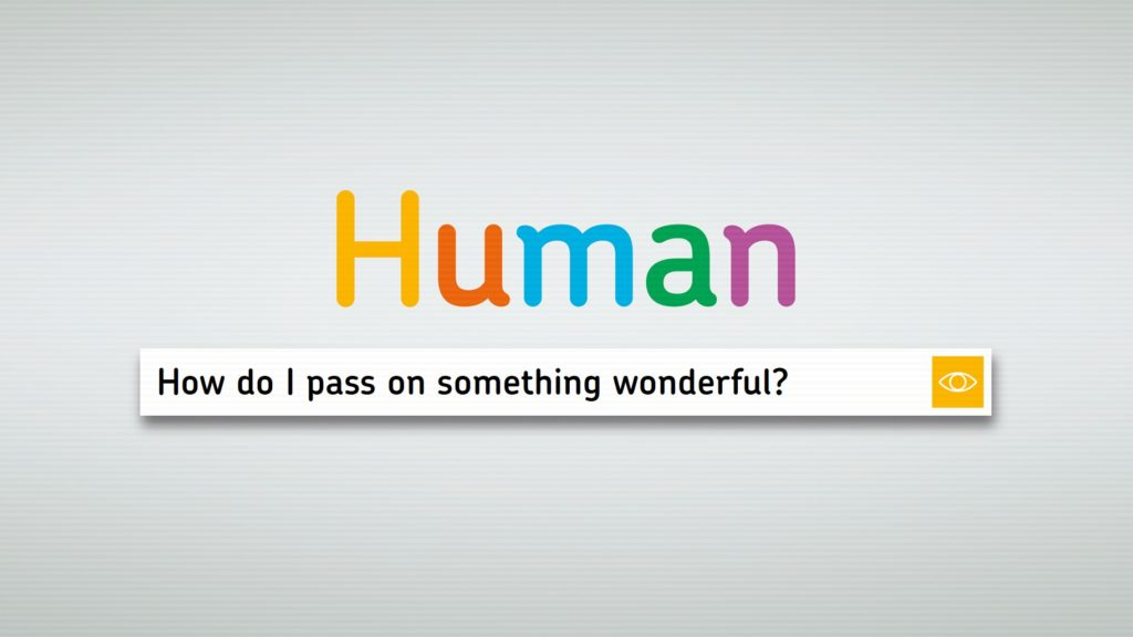 Human search engine box