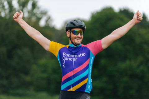 Cyclist for Pancreatic Cancer UK
