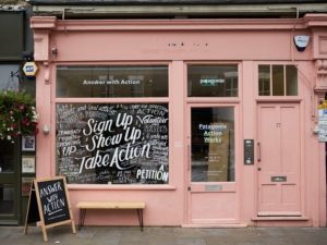 Pop up café opens in London to support environmental activism