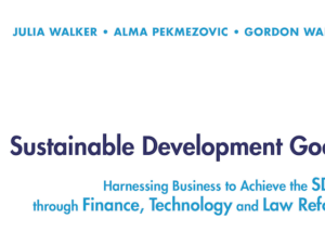 New book offers help on achieving Sustainable Development Goals