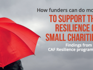 CAF Resilience Programme shares first findings