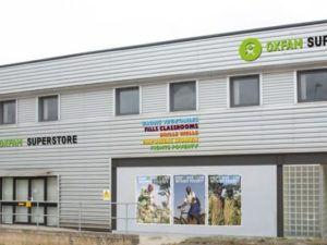 Oxfam opens its first charity superstore