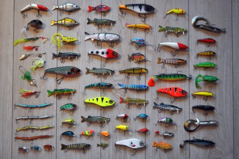 Fishing lures with hooks - Pixabay
