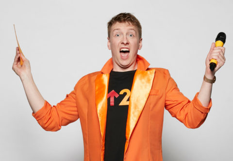 Joe Lycett, quiz master for Stand Up 2 Cancer