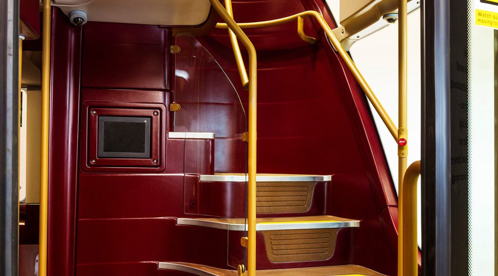Interior of New Routemaster - photo: Wrightbus