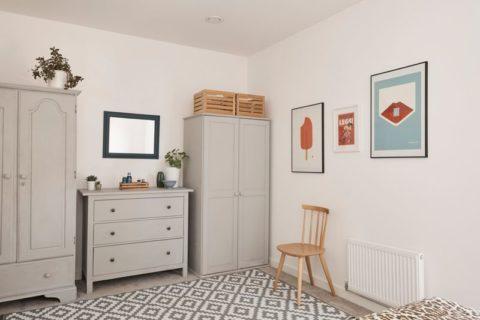 BHF bedroom after shot