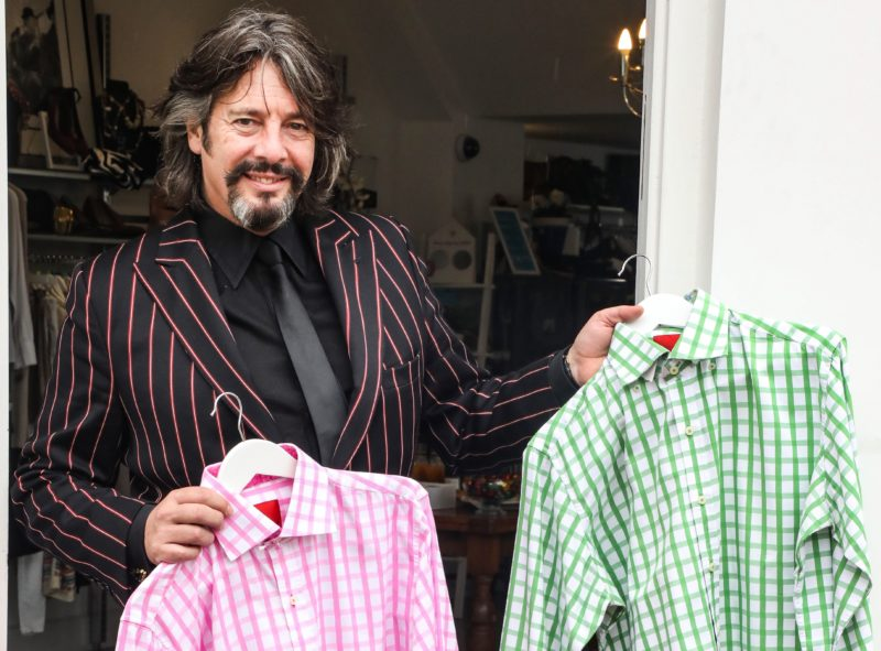 Laurence Llewelyn-Bowen, Shooting Star Children's Hospices, Battersea, Photo Credit Brett Cove (6)