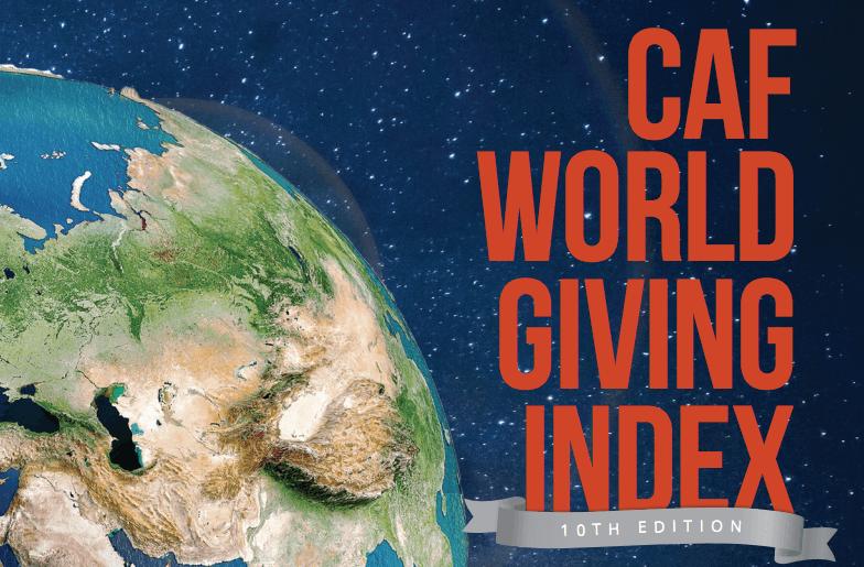 CAF World Giving Index 2019