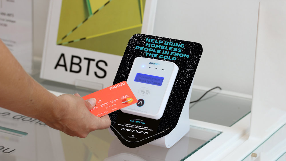 Contactless campaign for Tap London