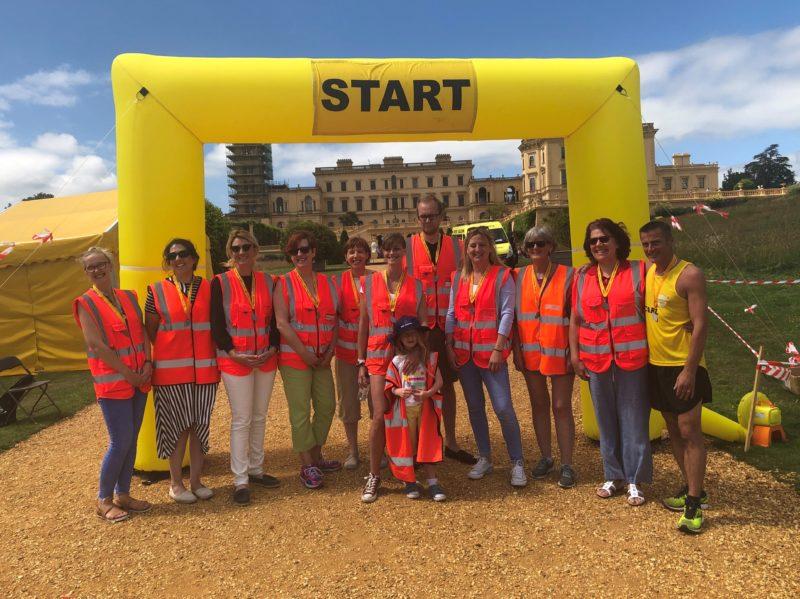 The Red Funnel team at Mountbatten's Osborne Run