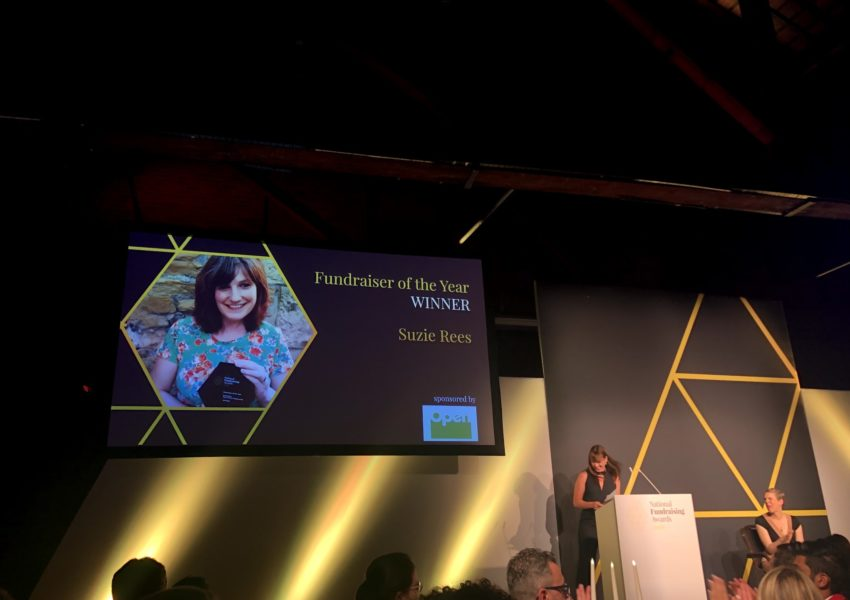 Fundraiser of the Year 2019 - Suzie Rees
