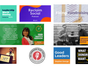 Podcasts that fundraisers recommend on International Podcast Day