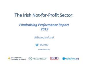 Irish charitable giving put at over €1 billion