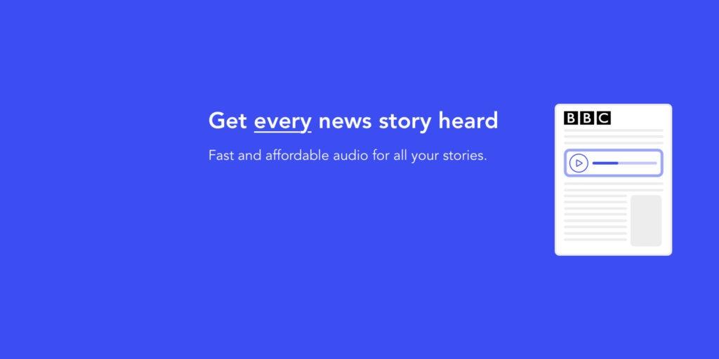 Speechkit - get every story heard