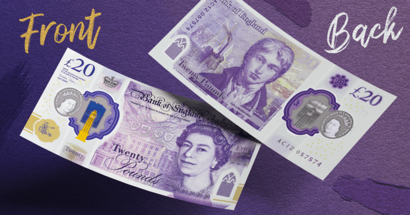 £20 polymer note