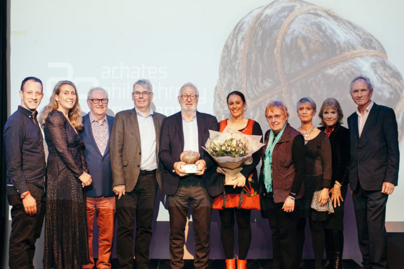 2019 Individual Philanthropy Award winners and judges. Photo by James Allan.