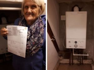 Plumber launches GoFundMe campaign to help keep elderly warm this winter