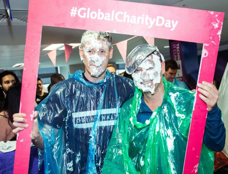 Pie in the Face at Robert Walters Group Charity Day