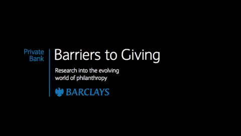 Barriers to Giving report