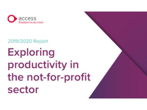 Productivity challenges an issue for 87% of charity decision makers