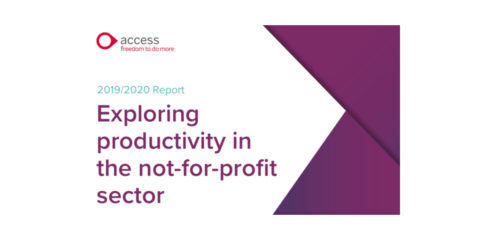 Access exploring productivity report cover