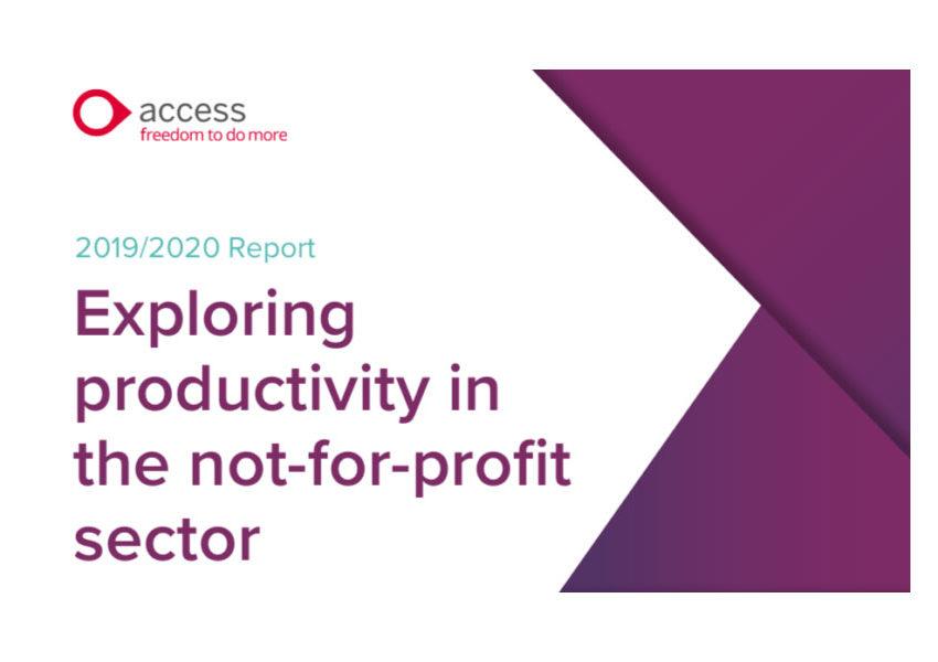 Access exploring productivity report cover