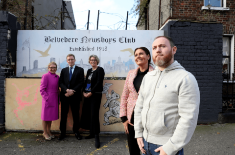 Launch at Belvedere Newsboys Club