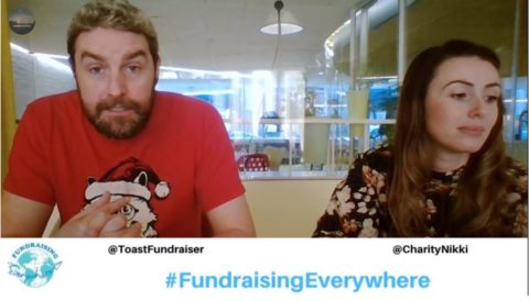 Simon Scriver and Nikki Bell present the first Fundraising Everywhere