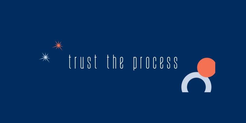 Trust the process - LarkOwl's course logo