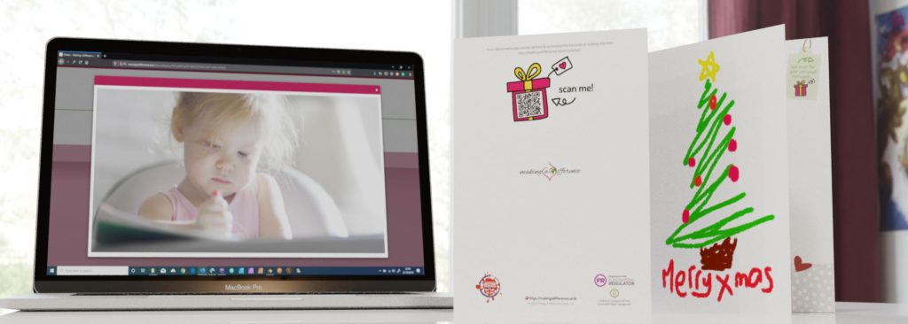 Making a Difference Cards video message example