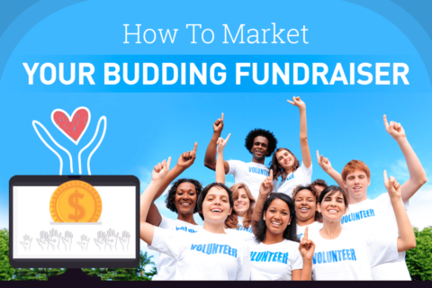 How to market your budding fundraiser - blog post title
