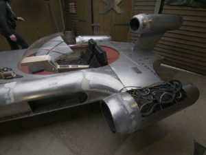 Star Wars Landspeeder to be auctioned on eBay for Children in Need