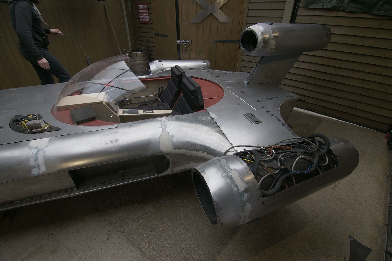 Star Wars Landspeeder To Be Auctioned On Ebay For Children In Need Uk Fundraising