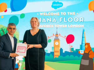 Salesforce opens London Ohana Floor with free weekend & weeknight use for non-profits