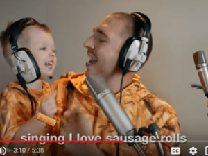 LadBaby storms to Christmas #1 with I Love Sausage Rolls