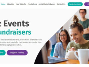 Virtual quiz platform created for charity fundraisers