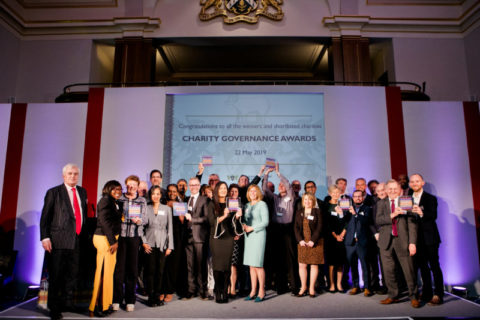 All winners in Charity Governance Awards 2019 (photo Kate Darkins Photography)