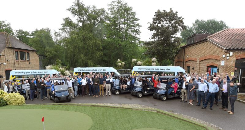 Crest Nicholson partners with Variety, the Childrens Charity to donate Sunshine Coaches to three schools